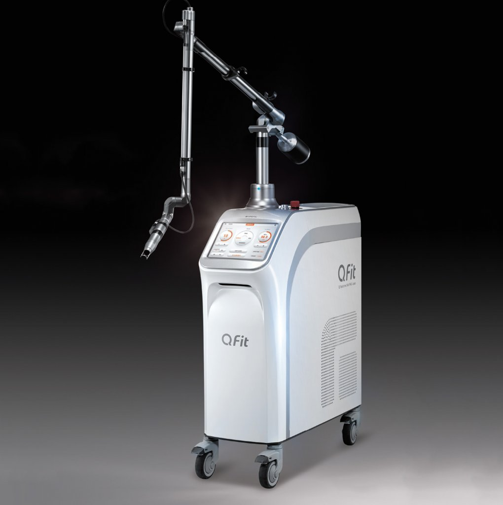 QFit Q-Switched Nd: YAG Laser ( Tattoo Removal Machine )