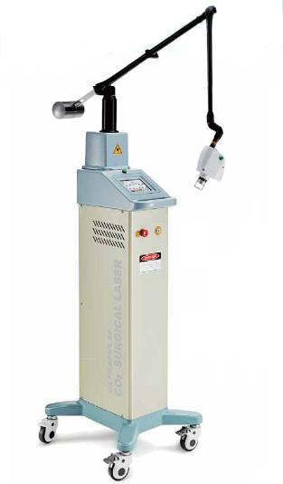Fractional Scanner integrated CO2 Laser System